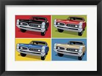 1967 GTO Classic Car Framed Print