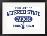 Framed Altered State Bong