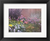 Framed Flower Bed