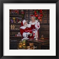 Framed Magic Paint With Mrs Claus
