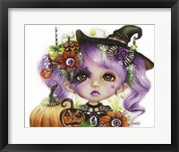 Framed Halloween Hannah - MunchkinZ