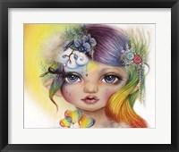 Framed Rainbow Rosalie - MunchkinZ Elf