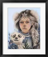 Framed Polar Precious - Only Friend In The World