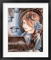 Framed Tea In The Moonlight - Tea Series