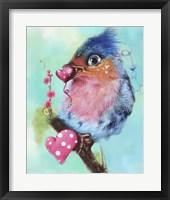 Framed Love Bird