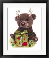 Framed Bruno Bear, Rudolph Fan