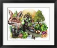 Framed Fox Cottage