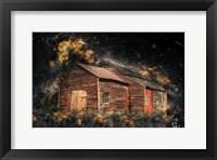 Framed Crazy Barn