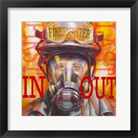 Framed Firefight - First In Last Out