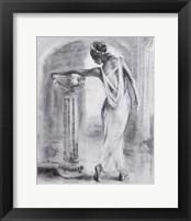 Framed Grecian Maiden