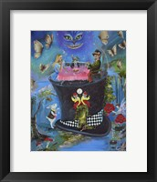 Framed Alice In Fantasyland