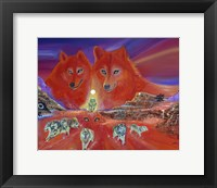 Framed Energy of the Wolves