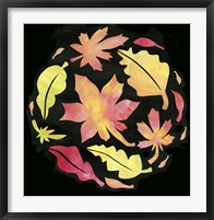 Framed Fall Leaves