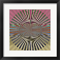 Framed Abstract Circle