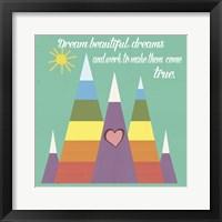 Framed Dream Beautiful Dreams