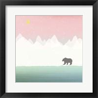 Framed Bear in Winter