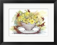 Framed Spring In A Teacup