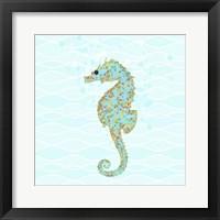 Framed Stanley Seahorse