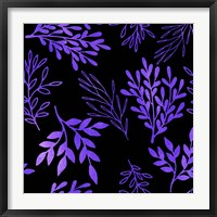 Framed Purple Leaves