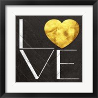 Framed Rustic Love