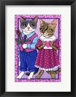 Framed Cat Lovers