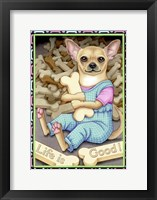 Framed Chihuahua Cookies