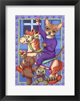 Framed Chihuahua Toys