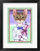 Framed Fish Cat