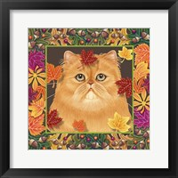 Framed Autumn Persian