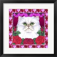 Framed Valentines Persian