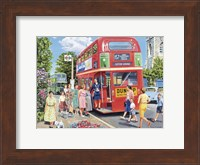 Framed Bus Conductress