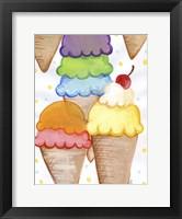 Framed Floating Ice Cream