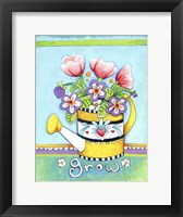 Framed Watering Can