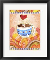 Framed Cup Of Love