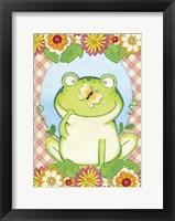 Framed Butterfly Frog