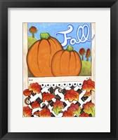 Framed Fall Pumpkins