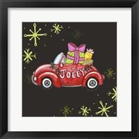 Framed Jolly Car