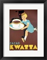 Framed Cocoa Kwatta