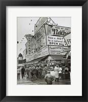 Framed Coney Island II