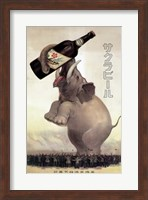 Framed Elephant Beer