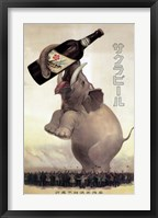 Framed Elephant Beer