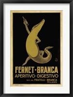 Framed Fernet Branca