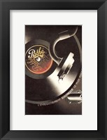 Framed Pathe Record