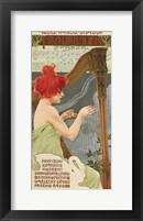 Framed Redhead Harp