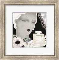 Framed Art Deco Flapper Color