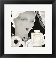 Framed Art Deco Flapper Color