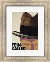 Framed Art Deco Hat
