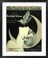 Framed Art Deco Music Sheet