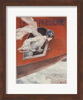 Framed Artdeco Airplane Lavie Parisienne