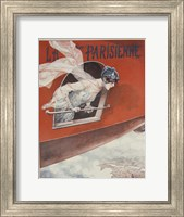 Framed Artdeco Airplane Lavie Parisienne